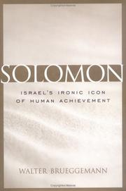 Cover of: Solomon