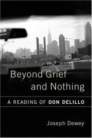 Cover of: Beyond Grief And Nothing
