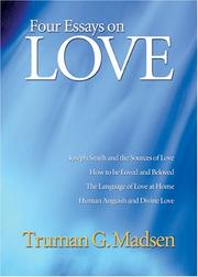 Cover of: Four Essays on Love | Truman G. Madsen