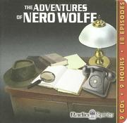 Cover of: The Adventures of Nero Wolfe | Rex Stout