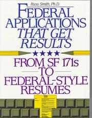 Cover of: Federal applications that get results