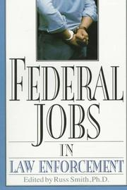 Cover of: Federal jobs in law enforcement