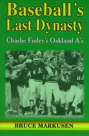 Cover of: Baseball's last dynasty