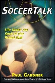Cover of: Soccer Talk | Paul Gardner