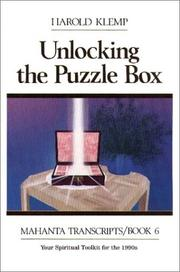 Cover of: Unlocking the Puzzle Box: Mahanta Transcripts, Book VI