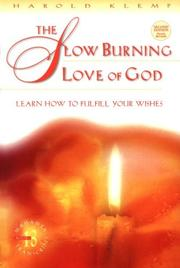 Cover of: The slow burning love of God