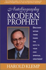Cover of: Autobiography Of A Modern Prophet