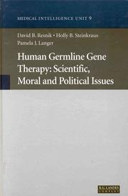 Cover of: Human germline gene therapy