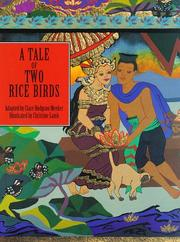 Cover of: A tale of two rice birds