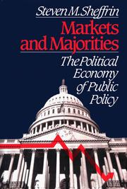 Cover of: Markets and majorities | Steven M. Sheffrin