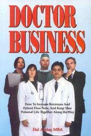 Cover of: Doctor business