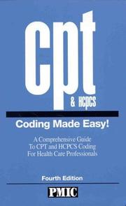 CPT & HCPCS coding made easy! by James B. Davis