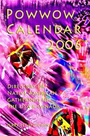 Cover of: Powwow Calendar 2006 | Jerry Lee Hutchens