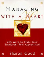 Cover of: Managing with a heart