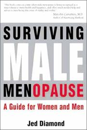 Cover of: Surviving Male Menopause.  A Guide for Women and Men | Jed Diamond