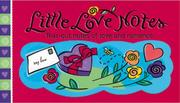 Cover of: Little Love Notes | Sourcebooks, Inc.