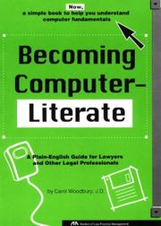 Cover of: Becoming computer-literate