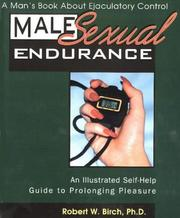 Cover of: Male Sexual Endurance by Robert W. Birch