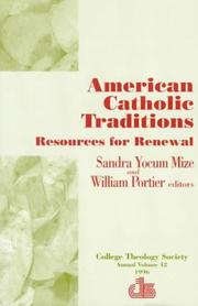 Cover of: American Catholic Traditions |