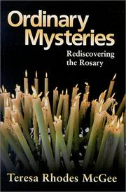 Cover of: Ordinary Mysteries