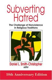 Cover of: Subverting Hatred | Daniel L. Smith-Christopher