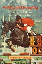Cover of: Reflections on riding and jumping