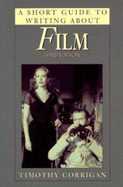 Cover of: short guide to writing about film | Timothy Corrigan