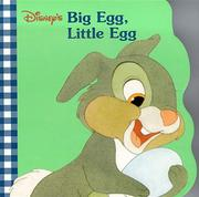 Cover of: Disney's big egg, little egg