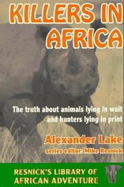 Cover of: Killers in Africa