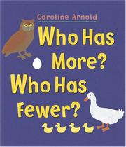 Cover of: Who has more? who has fewer?