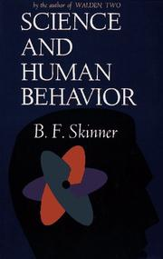 Cover of: Science And Human Behavior