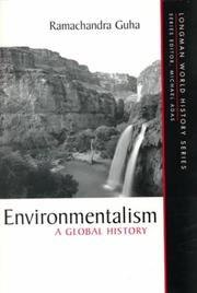Cover of: Environmentalism