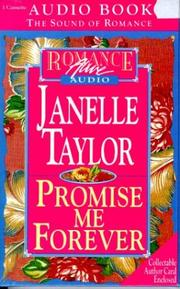 Cover of: Promise me forever