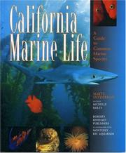 Cover of: California Marine Life | Marty Snyderman