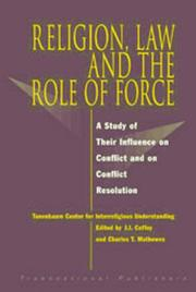 Cover of: Religion, law, and the role of force |
