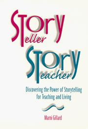Cover of: Storyteller, storyteacher