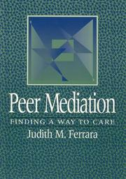 Cover of: Peer mediation
