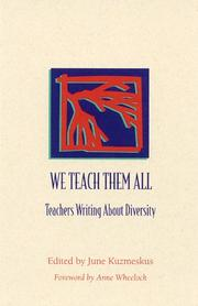 Cover of: We Teach Them All |