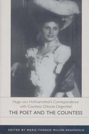 Cover of: The poet and the countess | Hugo von Hofmannsthal