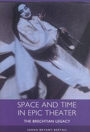 Cover of: Space and time in epic theater