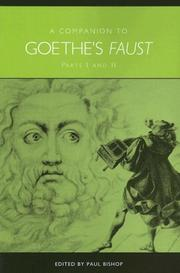 Cover of: Companion to Goethe