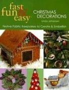 Cover of: Fast, fun & easy Christmas decorations