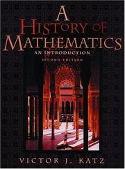 A History of Mathematics: An Introduction
