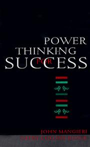 Cover of: Power thinking for success
