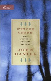 Cover of: Winter creek: one writer's natural history