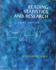 Cover of: Reading statistics and research