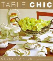 Cover of: Table chic
