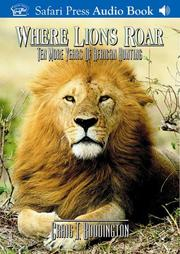 Cover of: Where Lions Roar | Craig Boddington
