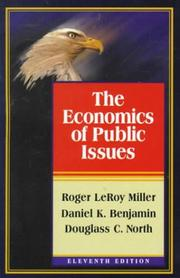 Cover of: The economics of public issues