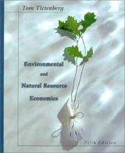 Cover of: Environmental and Natural Resource Economics (5th Edition) | Thomas H. Tietenberg